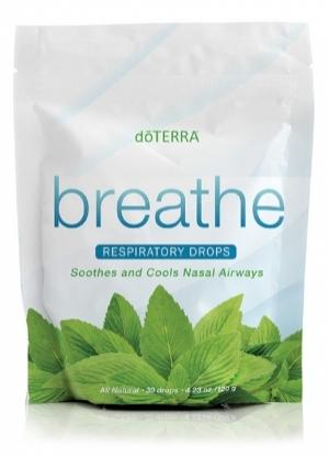 Леденцы c эфирными маслами «Дыхание»   BREATHE RESPIRATORY DROPS doTERRA