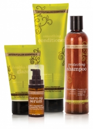 Комплект для ухода за волосами, 4 продукта   SALON ESSENTIALS® HAIR CARE SYSTEM doTERRA