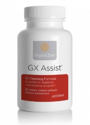 Комплекс для очищения ЖКТ «ДЖИ-ЭКС Ассист» |  GX Assist complex doTERRA 60 капсул